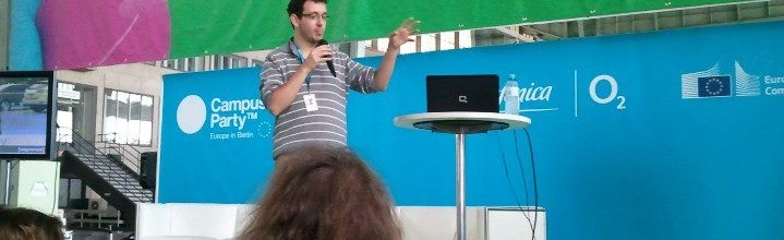 Keynote on Biohacking at Campus Party Europe 2012